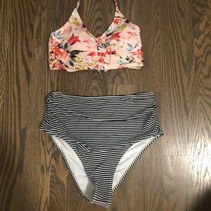 NWT high waist bikini